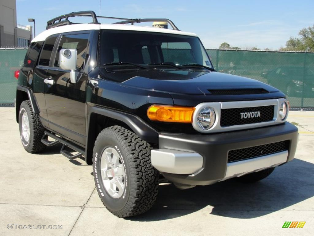 Fj Cruiser Sticker >> Black 2011 Toyota FJ Cruiser TRD Exterior Photo #43536246 | GTCarLot.com