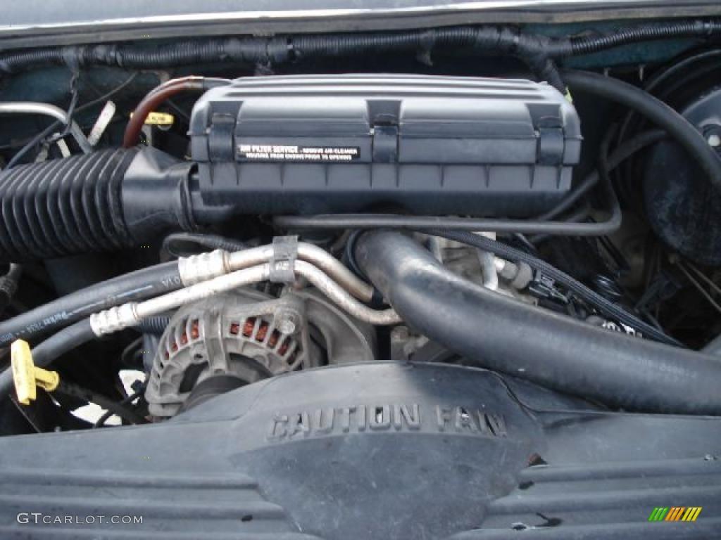 2001 dodge ram 1500 slt club cab 4x4 5 2 liter ohv 16 valve v8 engine photo 43546048. Black Bedroom Furniture Sets. Home Design Ideas