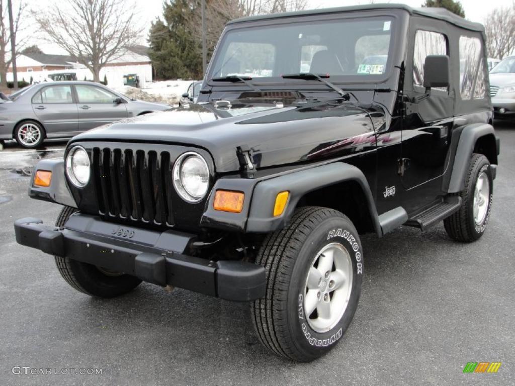 Black 2000 Jeep Wrangler Se 4x4 Exterior Photo 43548981