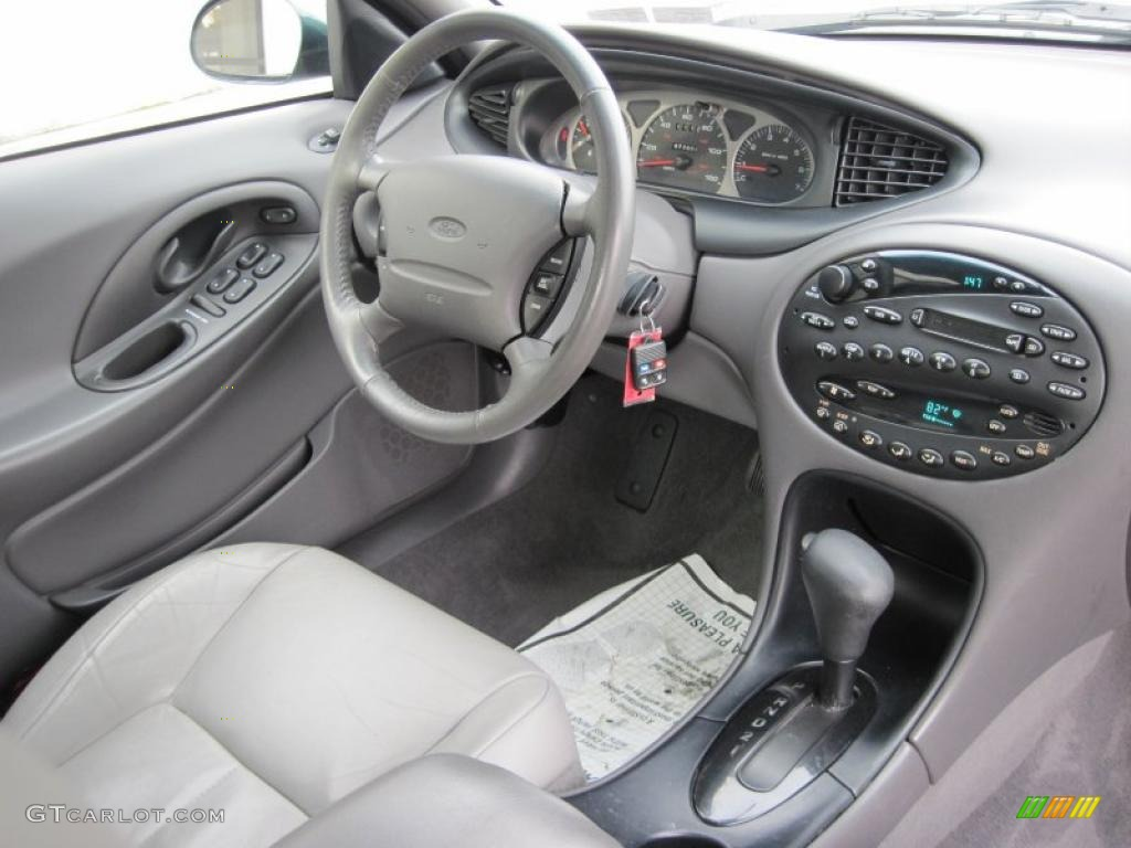 1999 ford taurus se medium graphite dashboard photo 43549245