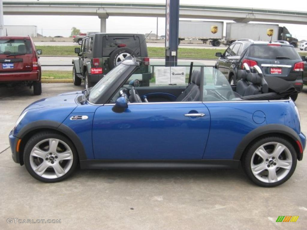 hyper blue metallic 2005 mini cooper s convertible exterior photo 43553481. Black Bedroom Furniture Sets. Home Design Ideas