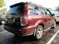 2007 Dark Cherry Pearl Honda Pilot EX-L  photo #2