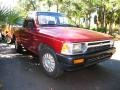 Garnet Red Pearl 1993 Toyota Pickup Regular Cab