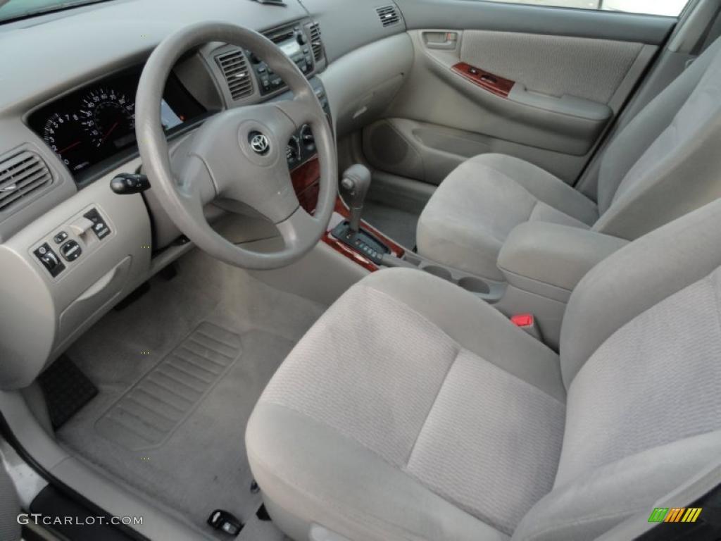 Stone Interior 2006 Toyota Corolla LE Photo 43620291