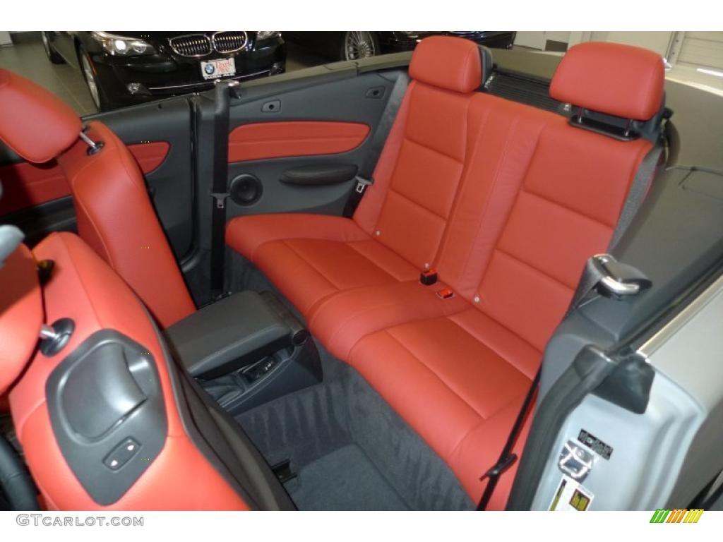 Bmw 128i Interior Coral Red Interior 2011 Bmw 1
