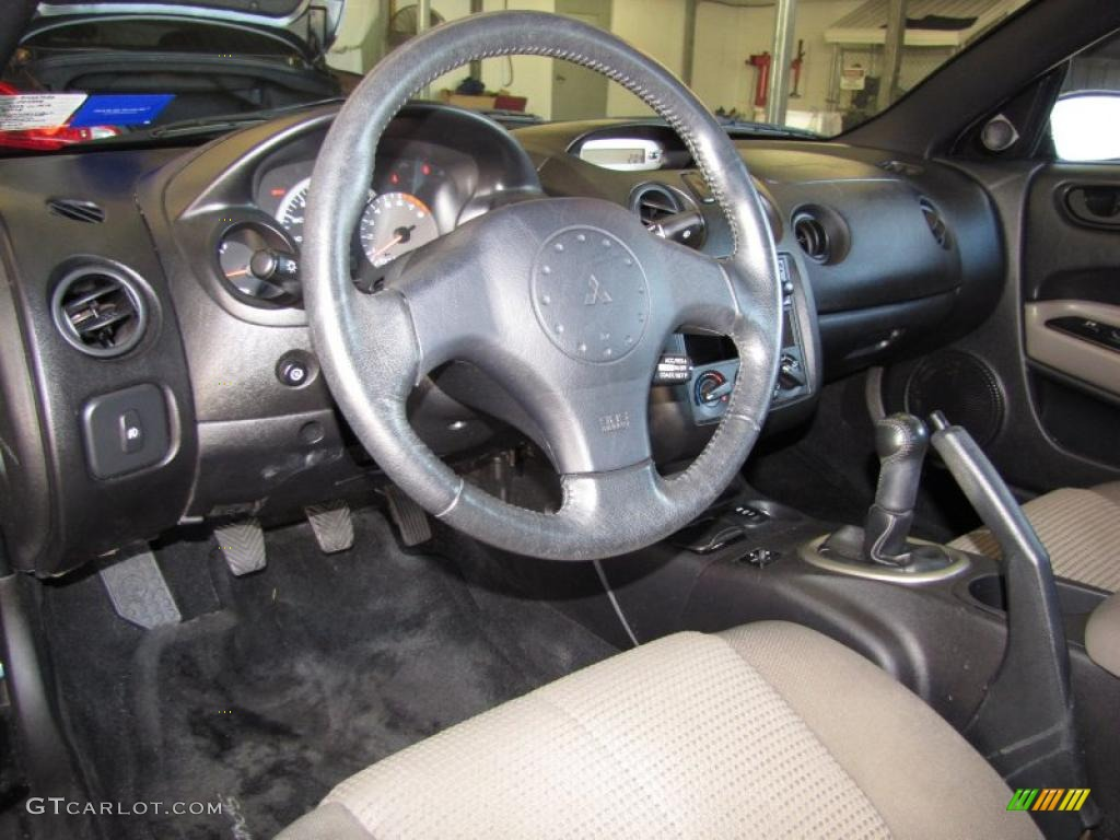 Sand Blast Interior 2003 Mitsubishi Eclipse Spyder GTS Photo #43622216