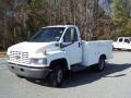 2004 Summit White Chevrolet C Series Kodiak C4500 Crew Cab Utility Dump Truck  photo #1