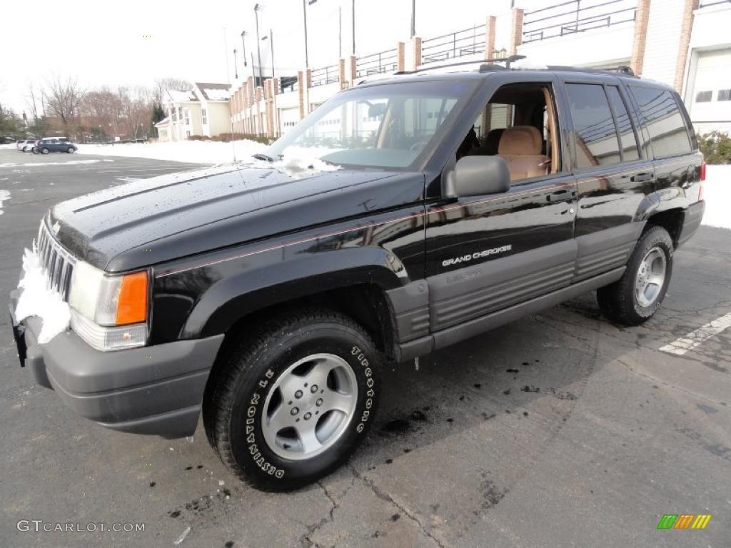 black 1997 jeep grand cherokee laredo 4x4 exterior photo. Black Bedroom Furniture Sets. Home Design Ideas