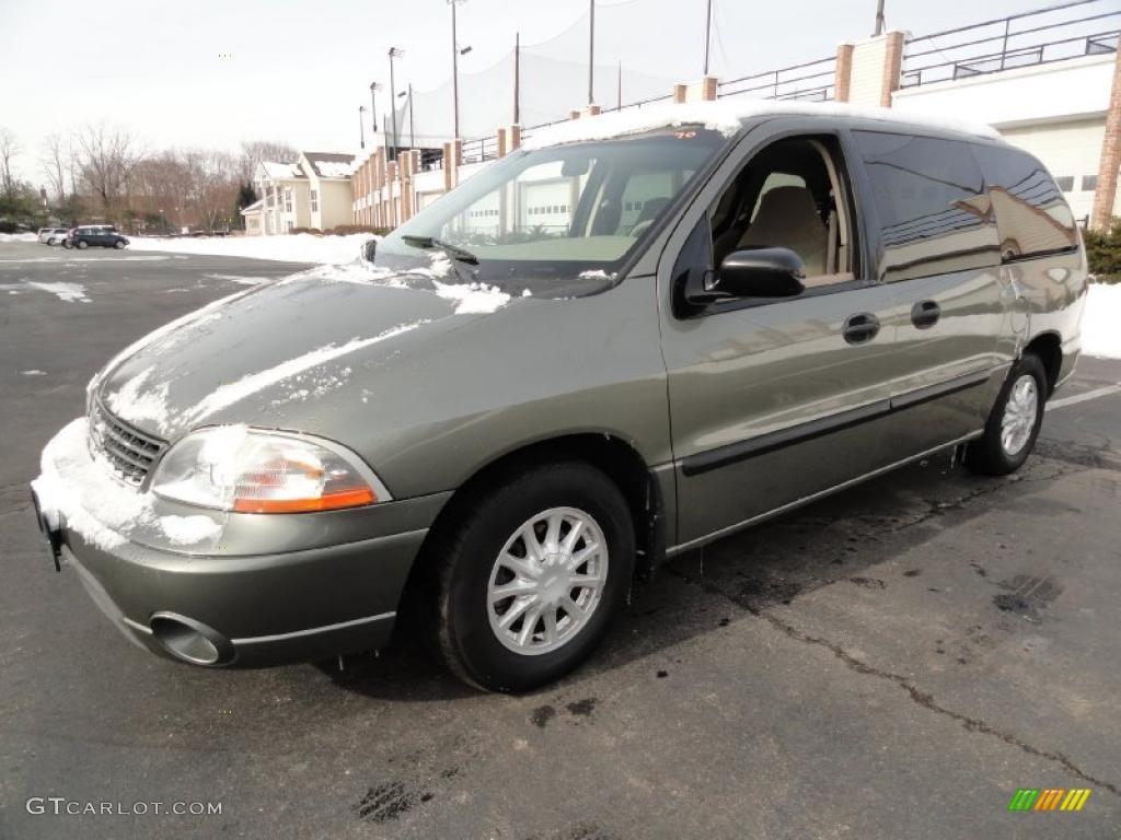 2003 spruce green metallic ford windstar lx 43647554 car color galleries. Black Bedroom Furniture Sets. Home Design Ideas