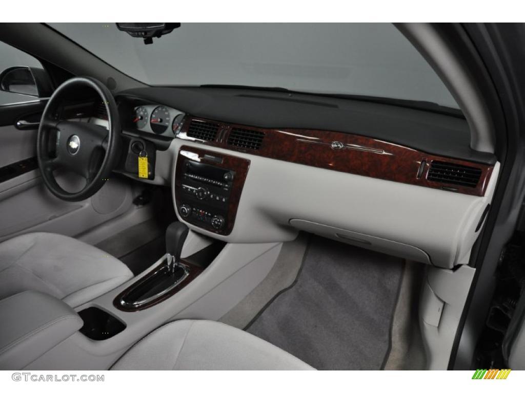 2009 Chevrolet Impala LS Gray Dashboard Photo #43673604 | GTCarLot.com