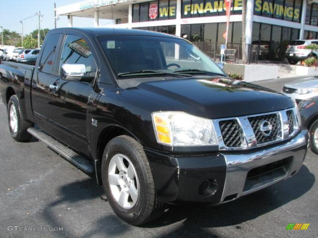 2004 galaxy black nissan titan se king cab 43557244 gtcarlot 2004 titan se king cab galaxy black sandsteel photo 1 vanachro Choice Image