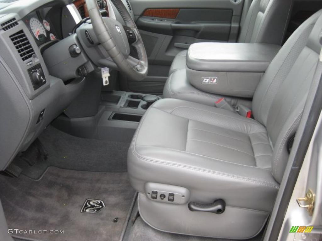 Medium Slate Gray Interior 2006 Dodge Ram 1500 Laramie