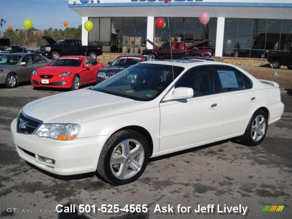 2002 White Diamond Pearl Acura TL 3.2 Type S #43647475 ...