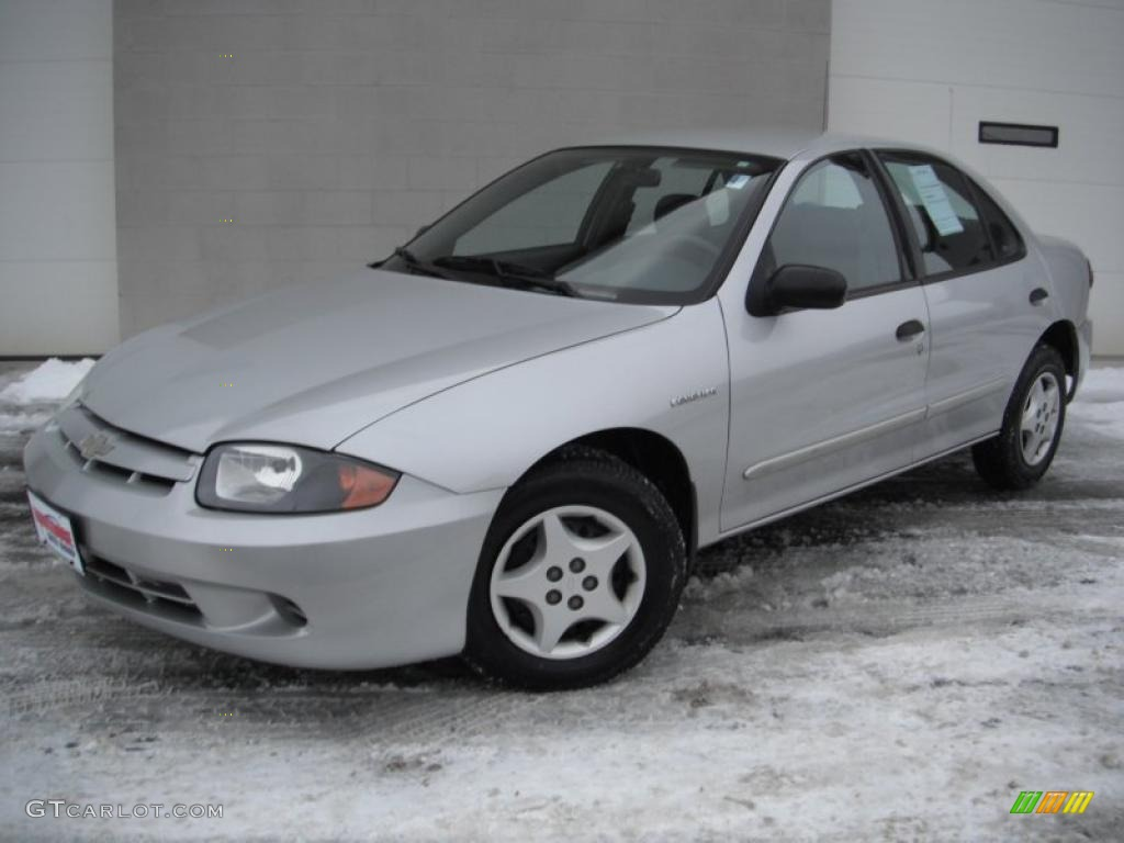 2003 ultra silver metallic chevrolet cavalier sedan 43723718 gtcarlot com car color galleries gtcarlot com