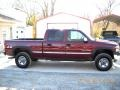 2001 Dark Toreador Red Metallic GMC Sierra 2500HD SLT Crew Cab 4x4 #43724157