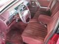 1994 Cutlass Ciera S Garnet Red Interior