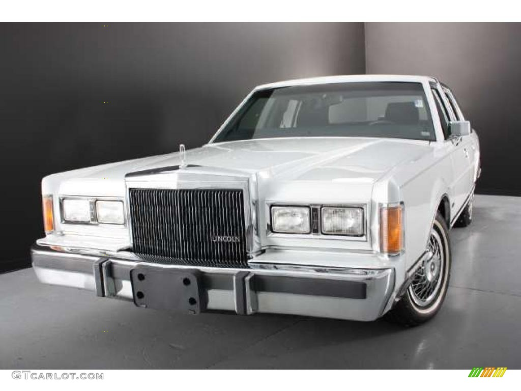 1989 oxford white lincoln town car 43780421 car color galleries. Black Bedroom Furniture Sets. Home Design Ideas