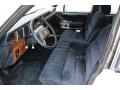1989 Lincoln Town Car Dark Blue Interior Prime Interior Photo