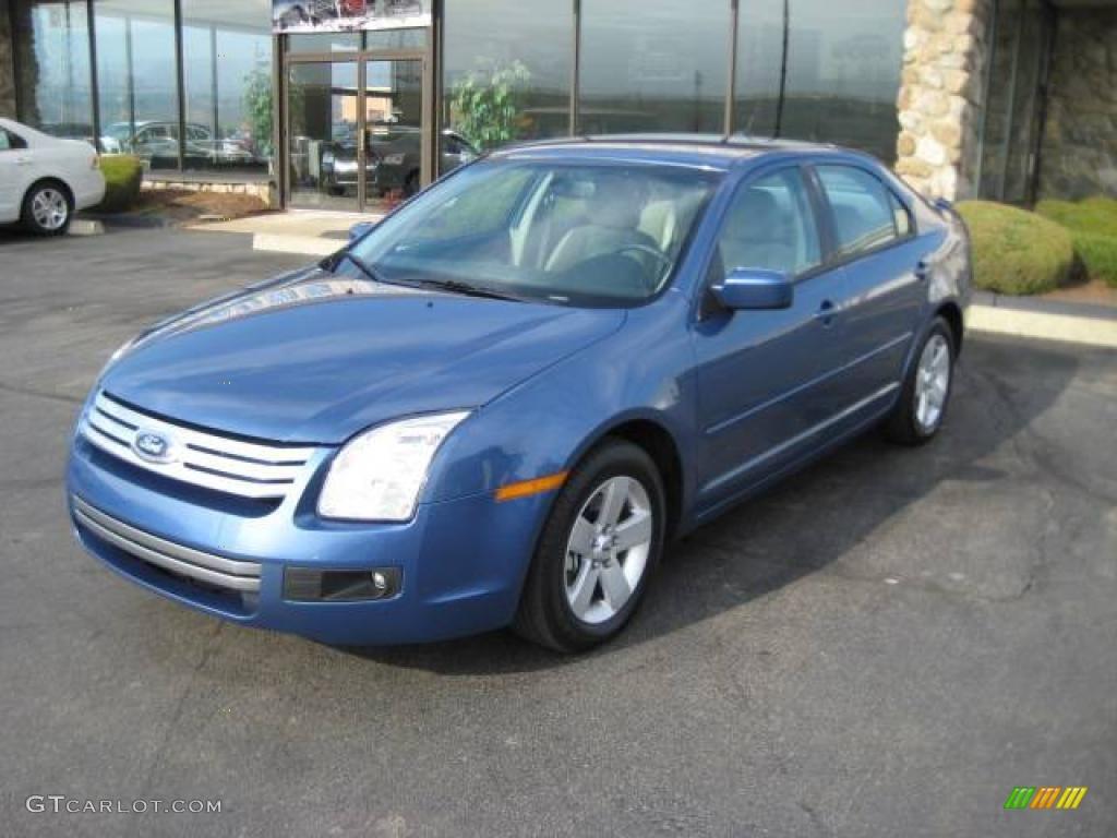 2009 sport blue metallic ford fusion sel v6 awd 4364712 car color galleries. Black Bedroom Furniture Sets. Home Design Ideas