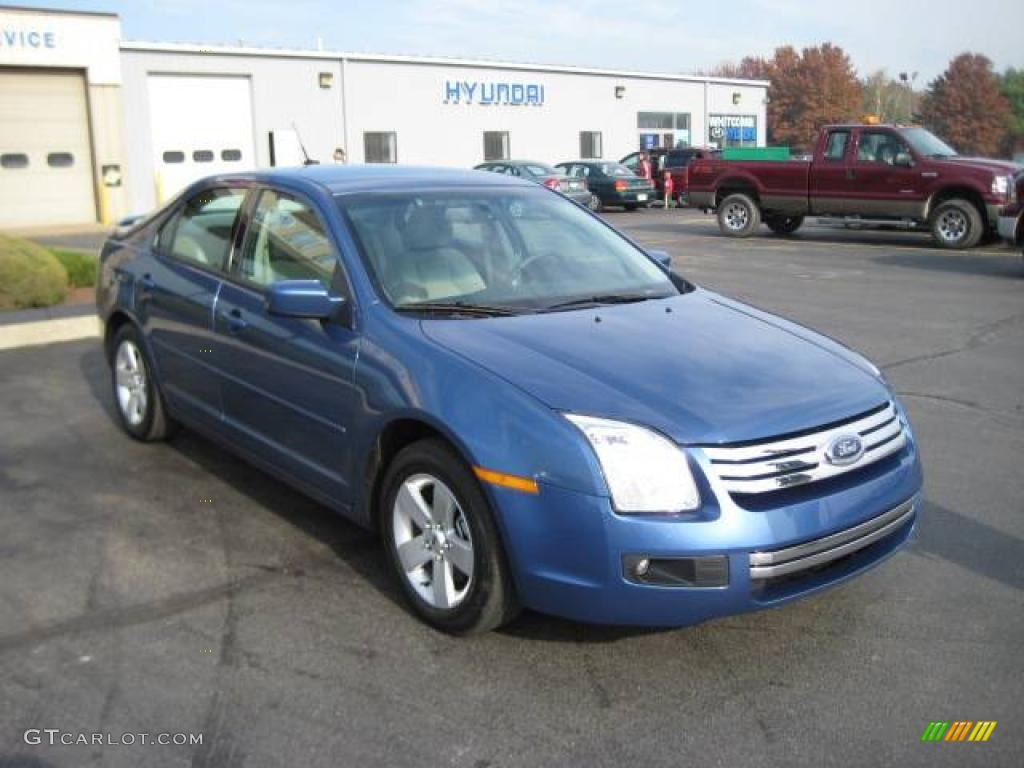 2009 sport blue metallic ford fusion sel v6 awd 4364712. Black Bedroom Furniture Sets. Home Design Ideas