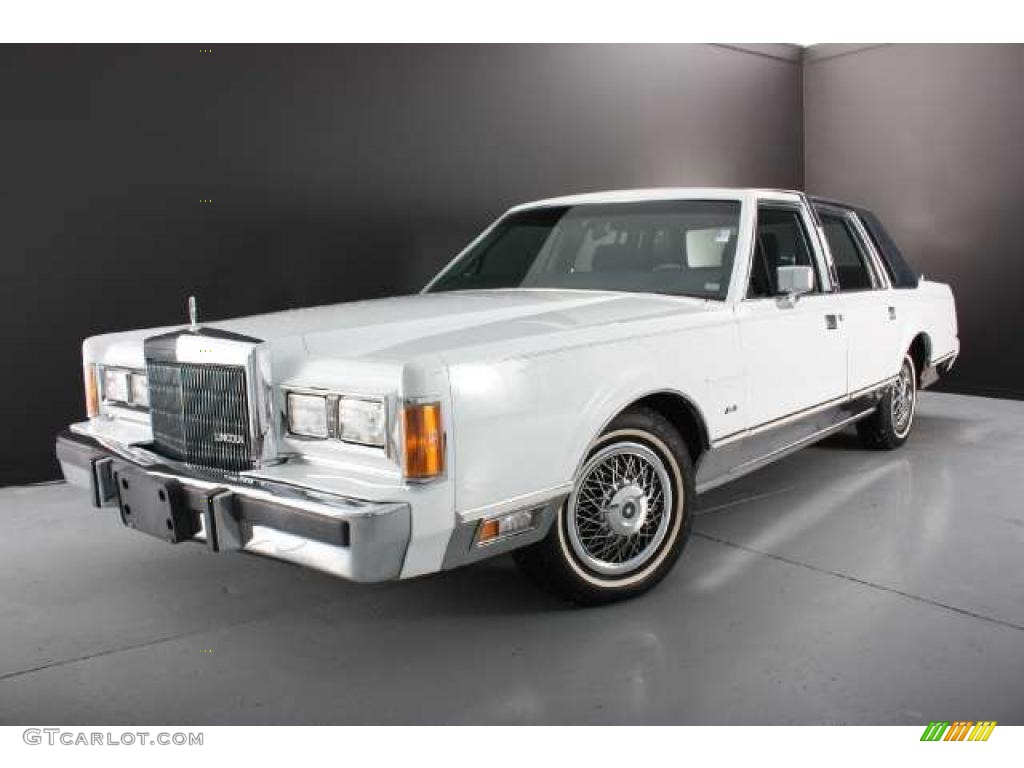 oxford white 1989 lincoln town car standard town car model exterior photo 43785174. Black Bedroom Furniture Sets. Home Design Ideas