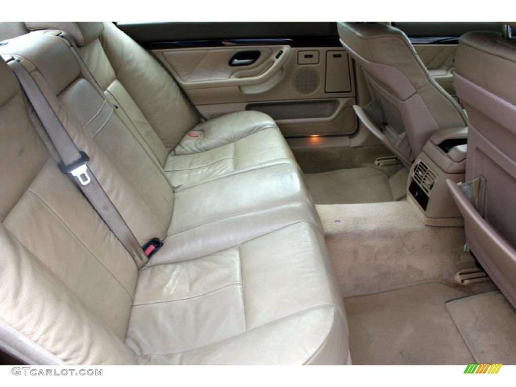 2000 BMW 7 Series 740iL Sedan Interior Photo 43789564