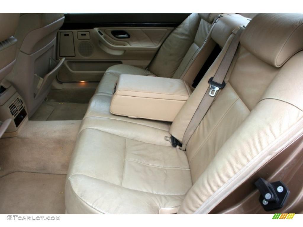 Bmw 7 Series 2000 Interior