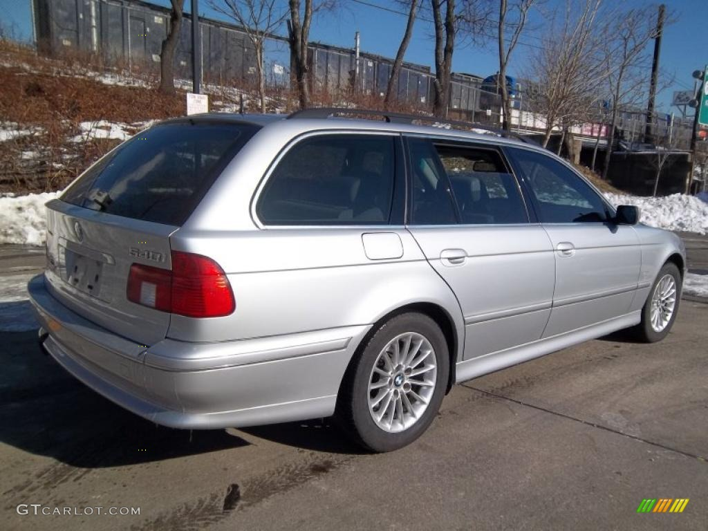 2001 Aspen Silver Metallic Bmw 5 Series 540i Sport Wagon 43781691 Photo 4 Gtcarlot Com Car Color Galleries