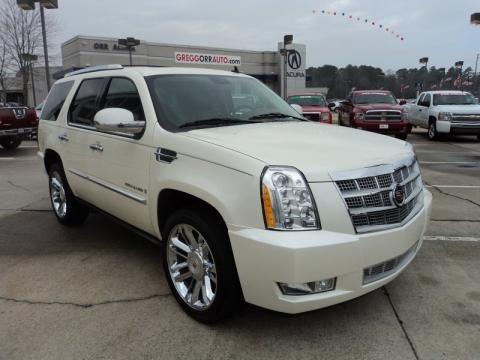 2009 Cadillac Escalade Platinum Data Info And Specs