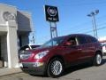 2009 Red Jewel Tintcoat Buick Enclave CXL AWD  photo #1