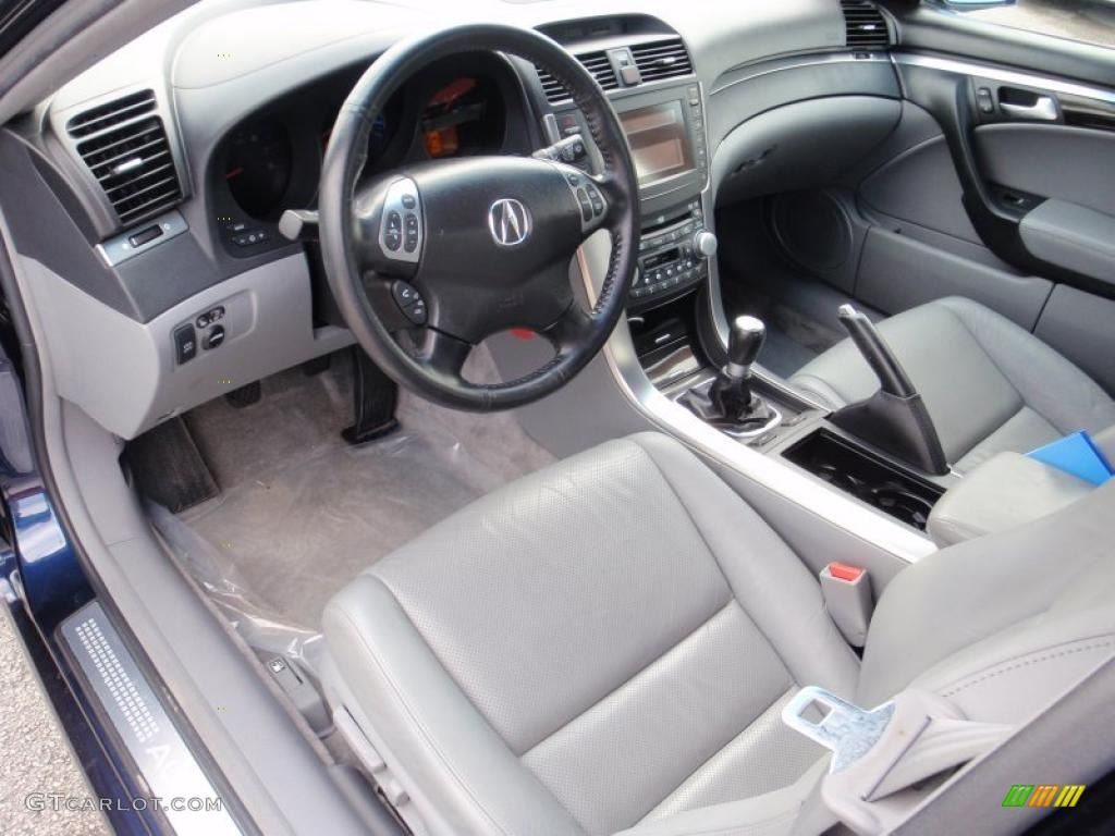 Quartz Interior 2005 Acura TL 3.2 Photo #43893929