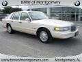 Ivory Pearl Tri-Coat 1996 Lincoln Town Car Cartier