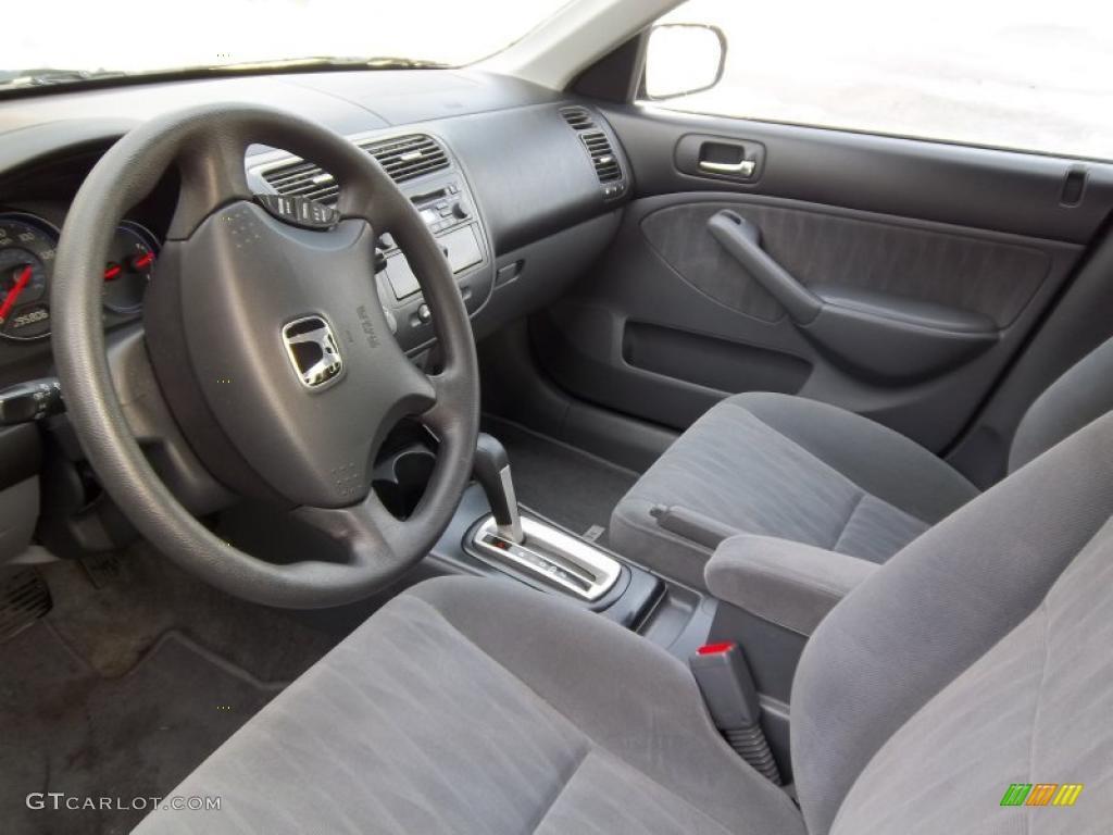 Charming 2004 Honda Civic LX Sedan Interior Photo #43923914