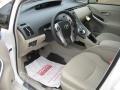 Bisque 2011 Toyota Prius Interiors