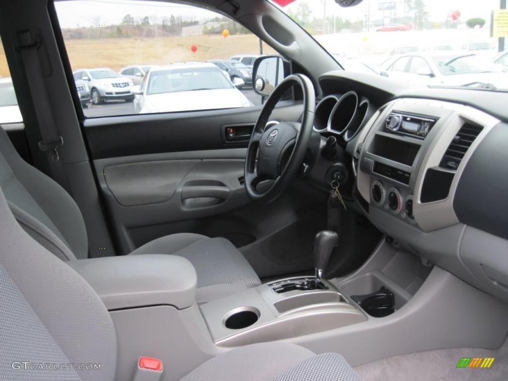 Graphite Gray Interior 2006 Toyota Tacoma V6 Trd Sport