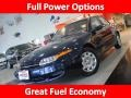 2001 Dark Blue Saturn L Series L200 Sedan #43880415