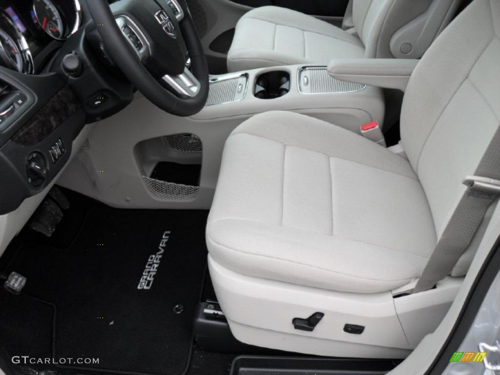 Black Light Graystone Interior 2011 Dodge Grand Caravan Crew Photo 43944158