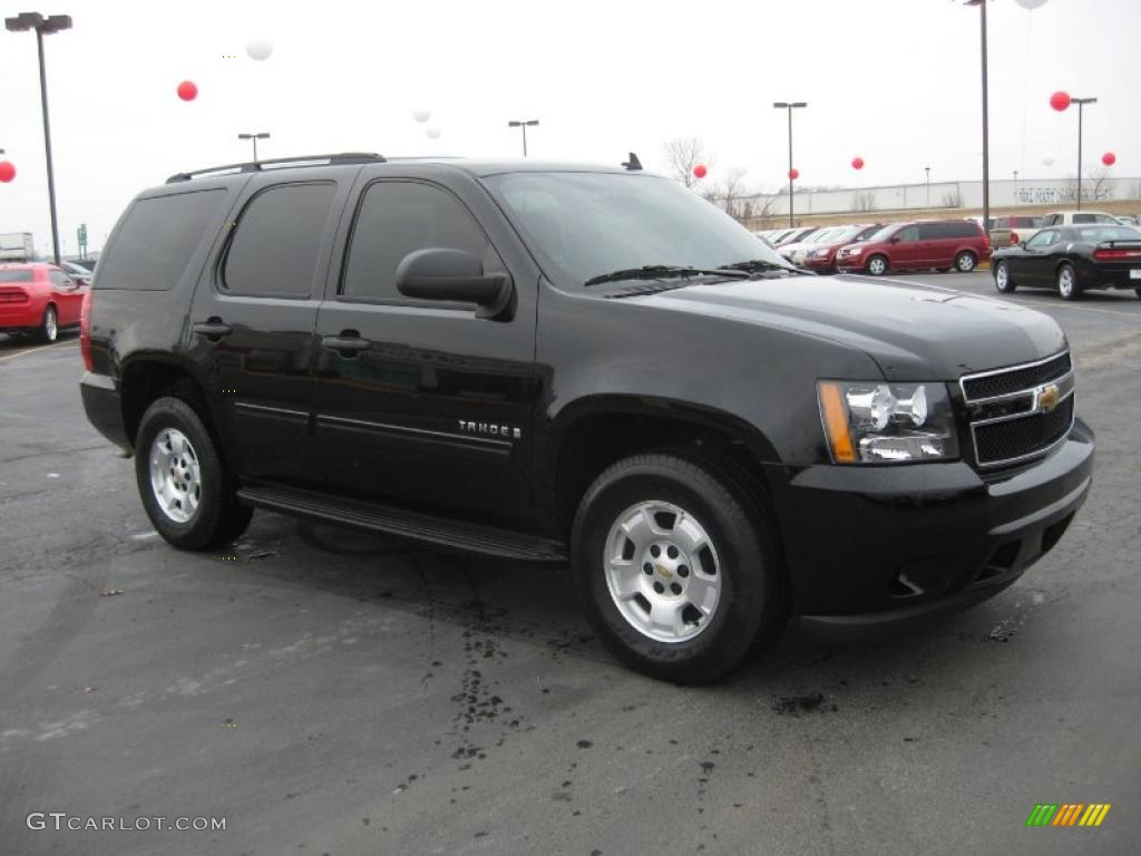 black 2009 chevrolet tahoe ls exterior photo 43947271. Black Bedroom Furniture Sets. Home Design Ideas
