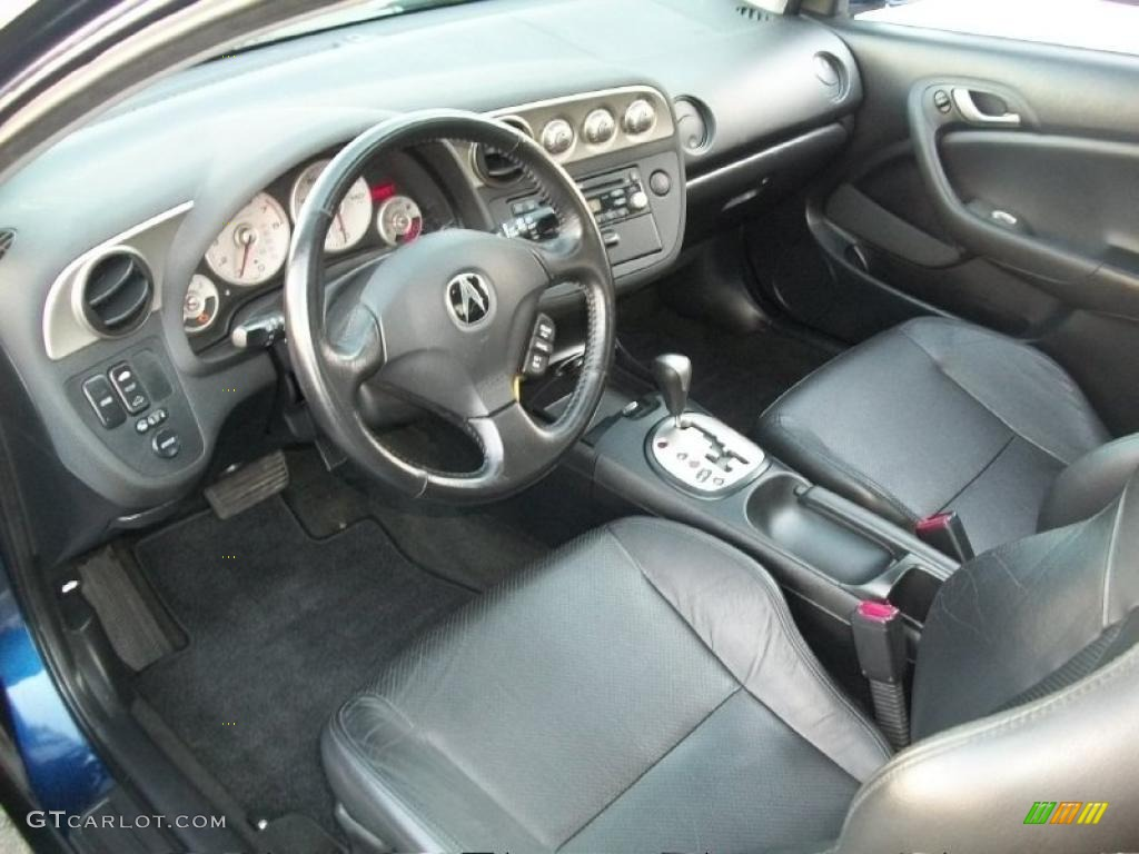 ebony interior 2004 acura rsx sports coupe photo 43948509. Black Bedroom Furniture Sets. Home Design Ideas