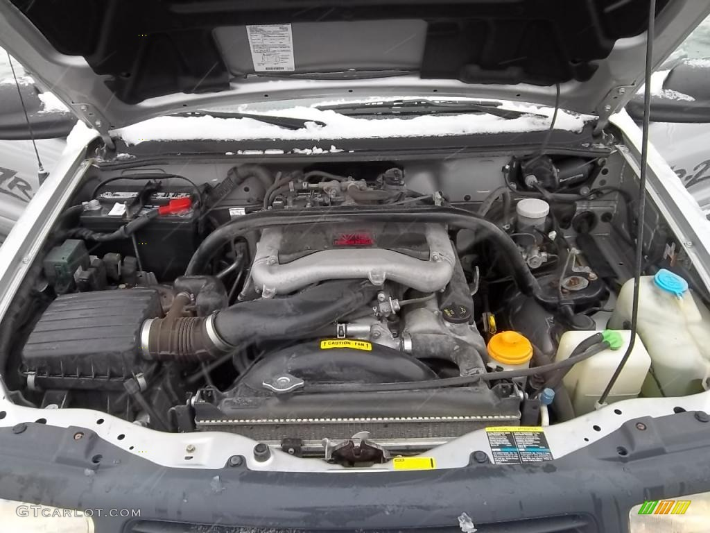 2002 Chevy Tracker Engine