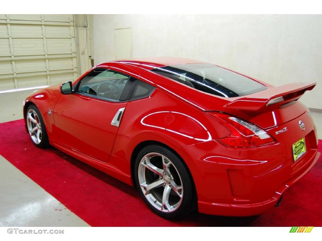 Solid Red 2009 Nissan 370z Nismo Coupe Exterior Photo 44003085 Gtcarlot Com