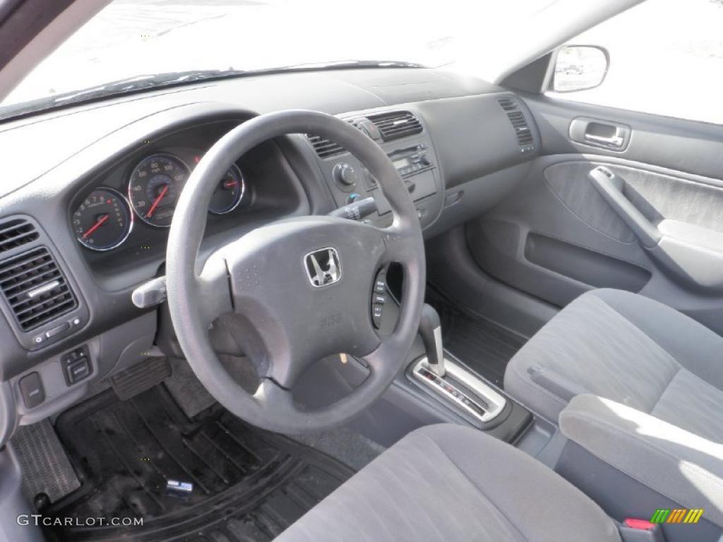 gray interior 2005 honda civic lx sedan photo 44005047 gtcarlot