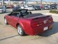 2007 Redfire Metallic Ford Mustang GT Premium Convertible  photo #3