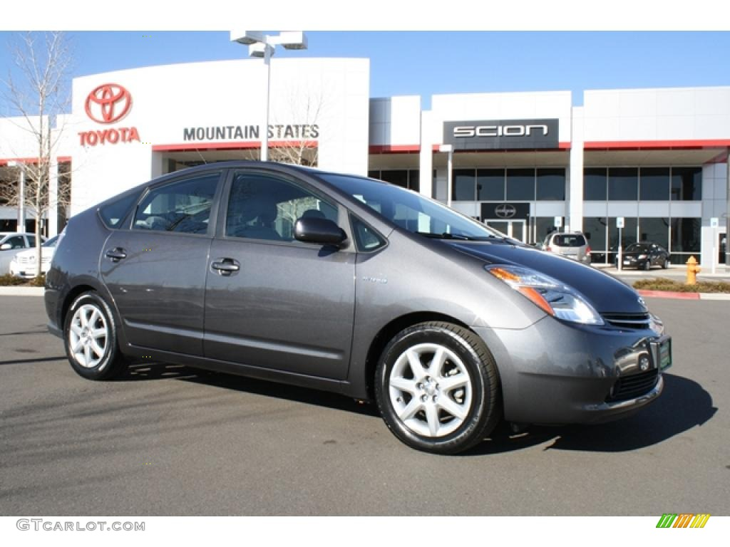 2008 magnetic gray metallic toyota prius hybrid touring. Black Bedroom Furniture Sets. Home Design Ideas