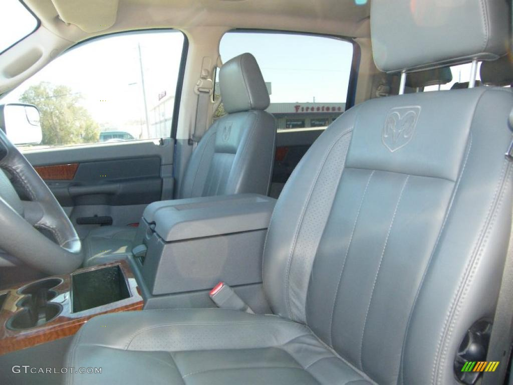 2007 dodge ram 1500 laramie mega cab 4x4 interior photo 44117542