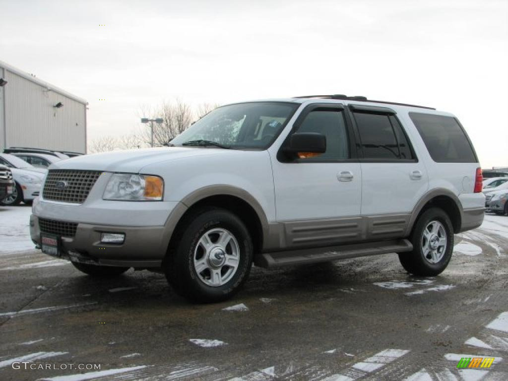 2004 oxford white ford expedition eddie bauer 4x4. Black Bedroom Furniture Sets. Home Design Ideas
