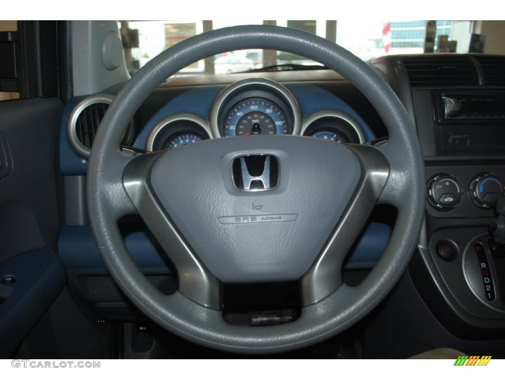 2003 Honda Element DX Gray Steering Wheel Photo 44137502