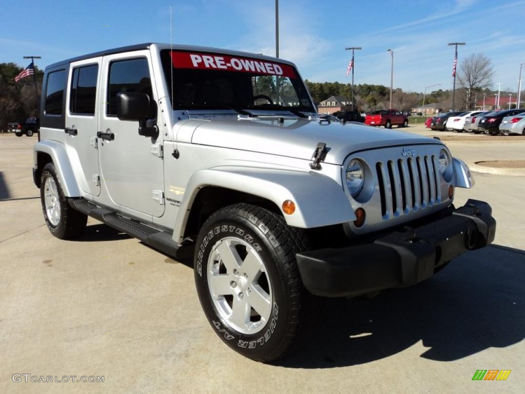 Bright Silver Metallic 2007 Jeep Wrangler Unlimited Sahara Exterior Photo 44143487 Gtcarlot Com