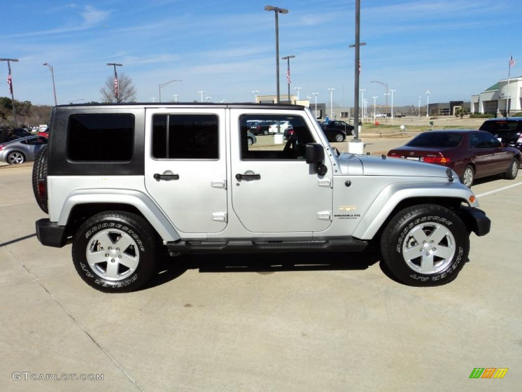 2007 jeep wrangler silver 200 interior and exterior images. Black Bedroom Furniture Sets. Home Design Ideas