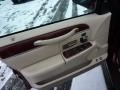 2004 Lincoln Town Car Light Parchment Interior Door Panel Photo
